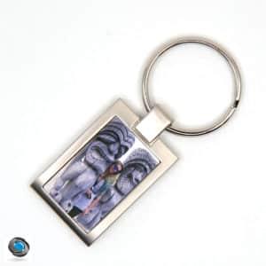porte clé métal rectangleporte clé métal rectangle personnalisé avec photo personnalisé avec photo